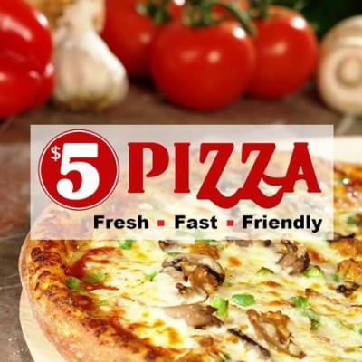 $5 Pizza