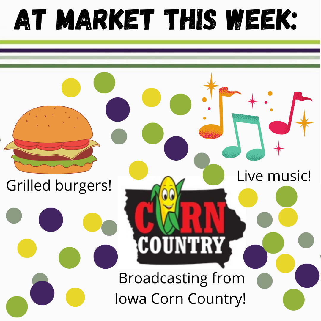 Grilled Burgers, Live Music, and Corn Country Broadcasting live at CHFM this Thursday July 22 2021
